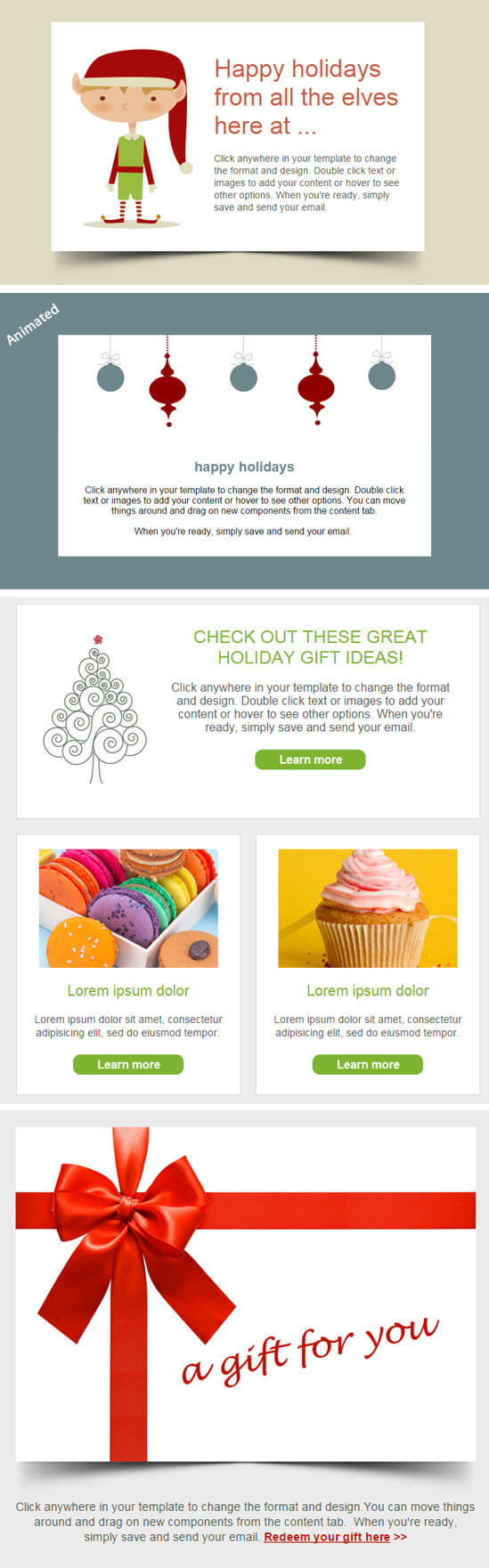Christmas Email Templates Are LIVE!