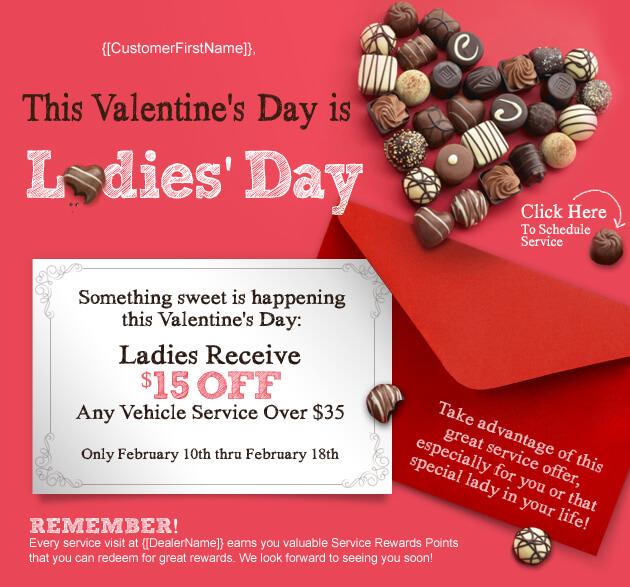 Toyota Email Marketing Valentines Day