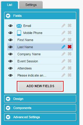 add fields